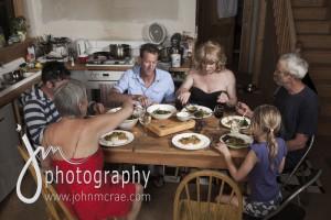 Dinner at Pomonal