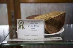 This was a truly unexpected win....Denise had no idea what a cappuccino cake was until the Stawell Show...and look!
