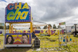 The Cha Cha was being packed up...otherwise I would have liked a go. I would always have a go on the Cha Cha whenever the show came to Horsham...my favorite (except for the one where the girl turns into a gorilla...that's another story)