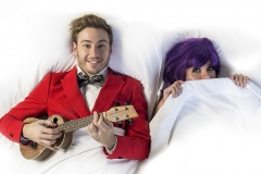"Lead shot from ""Under the Covers"" with Matthew Mitcham"