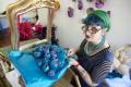 Portrait of Margarita Sampson in her Darlinghurst studio
