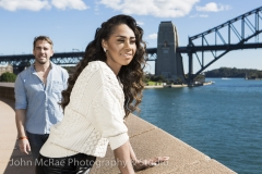 Paulini & Hugh Sheridan - editorial shot for Hair the musical