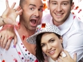 Matthew Mitcham, Ruby Rose & Louis Spence