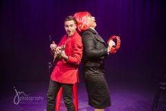 "Production shot from ""Under the Covers"" with Matthew Mitcham"